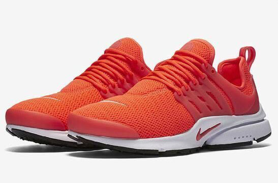 Mens & Womens (unisex) Nike Air Presto Orange White 36-46 Clearance